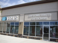 Store front for Iris Optometrists Opticians