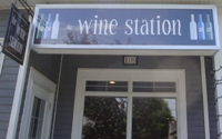Store front for The Wine Station
