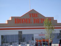 Store front for The Home Depot