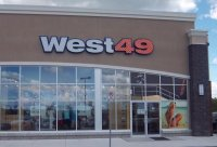 Store front for West 49