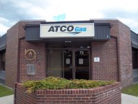 Store front for Atco Gas