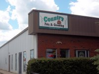 Store front for Country Pets & Grooming