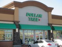 Store front for Dollar Tree