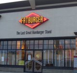 Store front for Fatburger