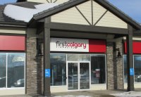 Store front for First Calgary Savings