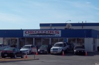 Store front for Okotoks Ford Lincoln