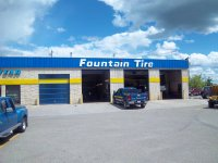 Store front for Fountain Tire