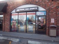 Store front for Home Run Sports