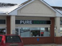 Store front for Pure Envy Salon & Spa