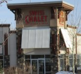 Store front for Swiss Chalet