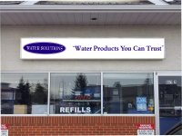 Store front for Water Solutions