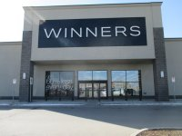Store front for Winners